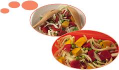 サーモンとカラフル野菜の蒸し焼き